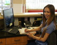 Breanna is a welcome addition to our pet-loving team of receptionists at Center-Sinai Animal Hospital