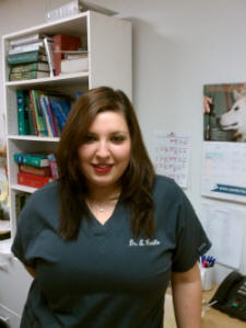 Dr. Erika Carrillo DVM - featured on Discovery Channel TV treating pit bulls, enjoys CSAH's teamwork approach to pet health care, pet & client relationships.