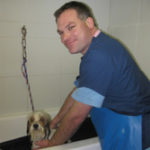 Our staff of dedicated veterinary professionals includes multi-talented Mark Presba - CSAH Veterinary Assistant & Groomer. If your dog or cat needs grooming, he/she will love Mark!