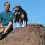 From The Ledgeman, Tribute to Dog Nalu, posted on Center-Sinai Animal Hospital site