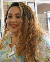 Meet Tammi - Receptionist. The Center-Sinai Animal Hospital team is very pleased to have Tammi, true dedicated veterinary professional, on our staff.