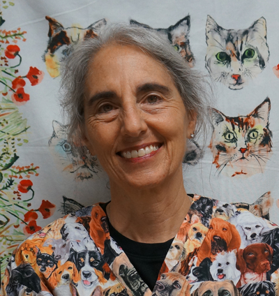 Debbie Horn, DAOM - Center-Sinai Veterinary Acupuncturist brings medical practices from the east and west together for balance and harmony in treating pets.
